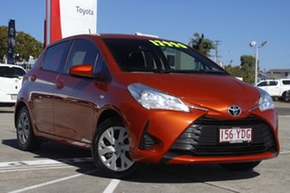 2017 Toyota Yaris NCP130R Ascent Inferno 5 Speed Manual Hatchback.