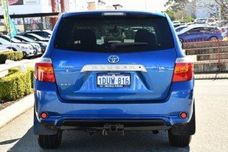 2008 Toyota Kluger GSU40R KX-R 2WD Blue 5 Speed Sports Automatic Wagon