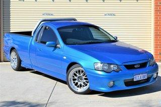 2002 Ford Falcon BA XR6 Turbo Ute Super Cab Blue 4 Speed Sports Automatic Utility.