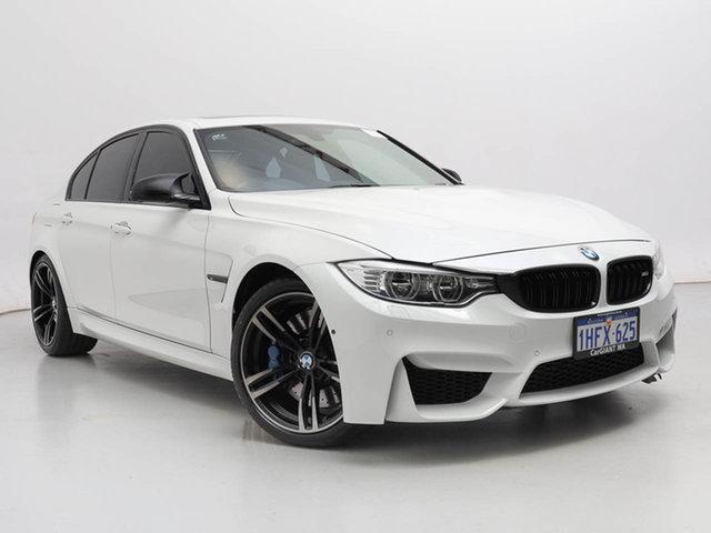 Used BMW M3 F80 , 2014 BMW M3 F80 White 7 Speed Auto Dual Clutch Sedan