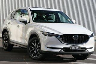 2021 Mazda CX-5 KF4WLA GT SKYACTIV-Drive i-ACTIV AWD Snowflake White Pearl 6 Speed Sports Automatic.