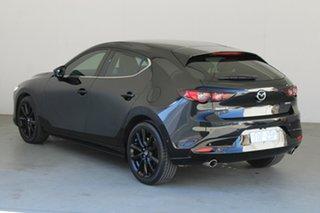 2019 Mazda 3 BP2HLA G25 SKYACTIV-Drive Astina Jet Black 6 Speed Sports Automatic Hatchback.