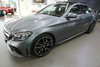 2019 Mercedes-Benz C-Class W205 809MY C200 9G-Tronic Grey 9 Speed Sports Automatic Sedan