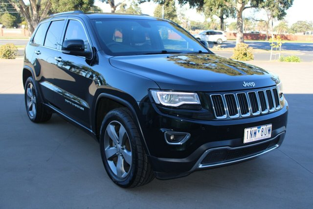 Used Jeep Grand Cherokee WK MY13 Limited (4x4) West Footscray, 2013 Jeep Grand Cherokee WK MY13 Limited (4x4) Green 5 Speed Automatic Wagon