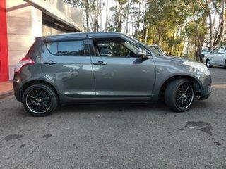 2012 Suzuki Swift FZ GLX Metallic Grey 5 Speed Manual Hatchback.