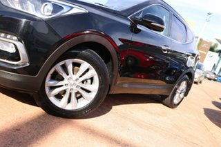 2015 Hyundai Santa Fe DM Series II (DM3) Elite CRDi (4x4) Black 6 Speed Automatic Wagon.