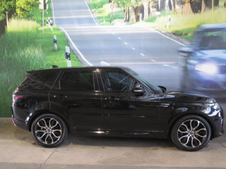 2018 Land Rover Range Rover LW MY19 Sport SDV6 HSE (225kW) Black 8 Speed Automatic Wagon.