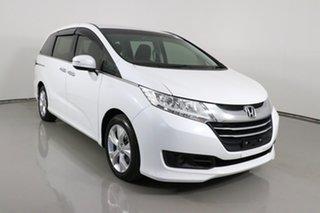 2014 Honda Odyssey RC VTi White Continuous Variable Wagon.