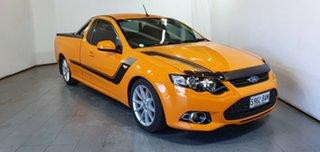 2014 Ford Falcon FG MkII XR6 Ute Super Cab Turbo Orange 6 Speed Sports Automatic Utility