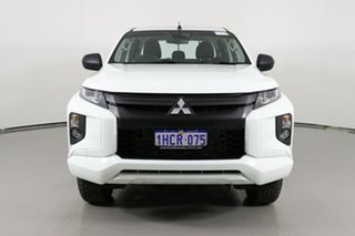 2020 Mitsubishi Triton MR MY21 GLX ADAS (4x2) White 6 Speed Automatic Double Cab Pick Up.