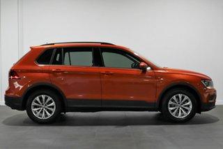 2016 Volkswagen Tiguan 5N MY17 110TSI DSG 2WD Trendline Orange 6 Speed Sports Automatic Dual Clutch