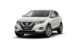 2021 Nissan Qashqai J11 Series 3 MY20 ST+ X-tronic Ivory Pearl 1 Speed Constant Variable Wagon.