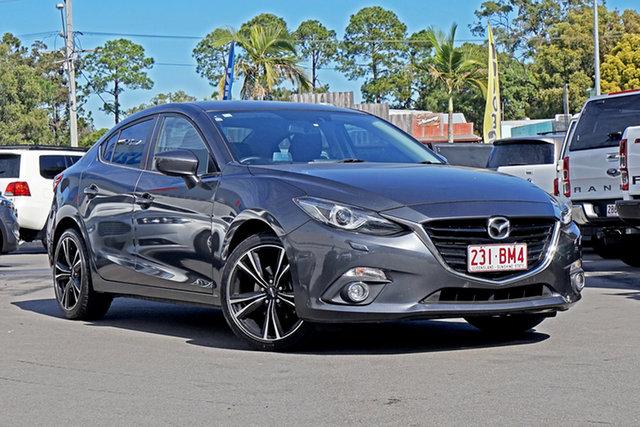 Used Mazda 3 BM5238 SP25 SKYACTIV-Drive GT Chandler, 2016 Mazda 3 BM5238 SP25 SKYACTIV-Drive GT Grey 6 Speed Sports Automatic Sedan