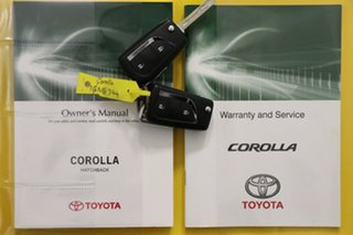 2018 Toyota Corolla ZRE182R MY17 SX White 7 Speed CVT Auto Sequential Hatchback
