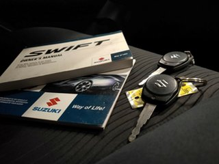 2012 Suzuki Swift FZ GLX Metallic Grey 5 Speed Manual Hatchback