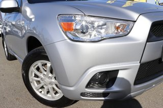 2012 Mitsubishi ASX XA MY12 2WD Cool Silver 6 Speed Constant Variable Wagon.