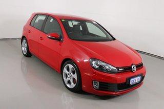 2013 Volkswagen Golf 1K MY13 GTi Red 6 Speed Direct Shift Hatchback