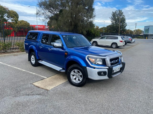Used Ford Ranger PK XLT Crew Cab Mile End, 2010 Ford Ranger PK XLT Crew Cab Blue 5 Speed Manual Utility