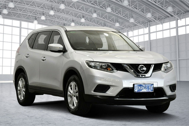 Used Nissan X-Trail T32 ST X-tronic 2WD Victoria Park, 2015 Nissan X-Trail T32 ST X-tronic 2WD Silver 7 Speed Constant Variable Wagon