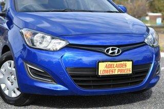 2014 Hyundai i20 PB MY14 Active Blue 4 Speed Automatic Hatchback