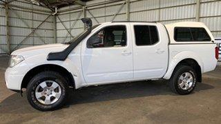 2009 Nissan Navara D40 ST-X White 6 Speed Manual Utility.