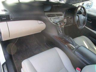 2009 Lexus RX GYL15R RX450h Sports Luxury White 1 Speed Constant Variable Wagon Hybrid