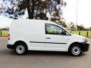 2014 Volkswagen Caddy 2KN MY14 TDI250 SWB White 5 Speed Manual Van