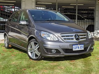 2011 Mercedes-Benz B-Class W245 MY11 B180 Grey 1 Speed Constant Variable Hatchback.