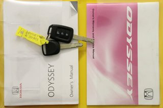 2014 Honda Odyssey RC VTi White Continuous Variable Wagon