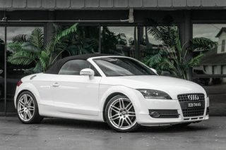 2008 Audi TT 8J MY09 S Tronic White 6 Speed Sports Automatic Dual Clutch Coupe.