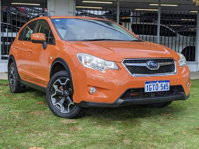 Used Subaru XV G4X MY13 2.0i Lineartronic AWD Victoria Park, 2013 Subaru XV G4X MY13 2.0i Lineartronic AWD Orange 6 Speed Constant Variable Wagon