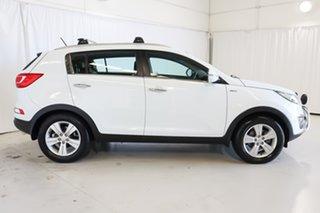 2014 Kia Sportage SL Series II MY13 SLi White 6 Speed Sports Automatic Wagon.
