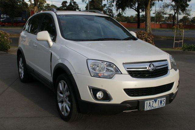 Used Holden Captiva CG MY13 5 LTZ (AWD) West Footscray, 2013 Holden Captiva CG MY13 5 LTZ (AWD) White 6 Speed Automatic Wagon