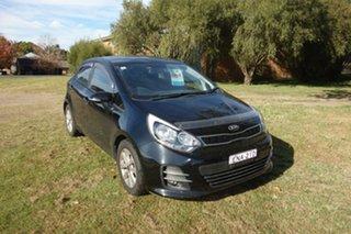 2015 Kia Rio UB MY16 S-Premium Black 4 Speed Sports Automatic Hatchback.