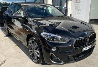 2019 BMW X2 F39 M35i Coupe Steptronic AWD Black Sapphire 8 Speed Sports Automatic Wagon.