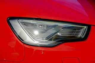 2016 Audi RS 3 8V MY16 Sportback S Tronic Quattro Red 7 Speed Sports Automatic Dual Clutch Hatchback