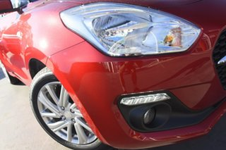 2021 Suzuki Swift AZ Series II GL Navi Red Continuous Variable Hatchback.