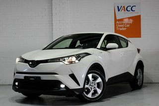 2019 Toyota C-HR NGX10R S-CVT 2WD White 7 Speed Constant Variable Wagon