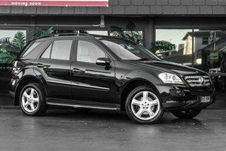 2007 Mercedes-Benz M-Class W164 MY08 ML280 CDI Black 7 Speed Sports Automatic Wagon.