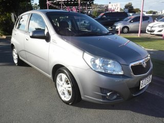 2011 Holden Barina Silver 5 Speed Automatic Hatchback.