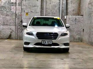 2015 Subaru Liberty B6 MY15 2.5i CVT AWD Premium White/leatrher 6 Speed Constant Variable Sedan.