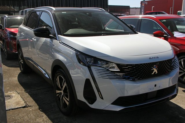 New Peugeot 5008 P87 MY21 GT Cardiff, 2021 Peugeot 5008 P87 MY21 GT White 6 Speed Automatic Wagon