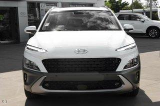 2021 Hyundai Kona Os.v4 MY21 Highlander 2WD Atlas White 8 Speed Constant Variable Wagon