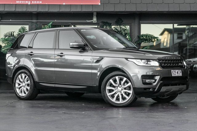 Used Land Rover Range Rover Sport L494 MY14 SE Bowen Hills, 2013 Land Rover Range Rover Sport L494 MY14 SE Grey 8 Speed Sports Automatic Wagon
