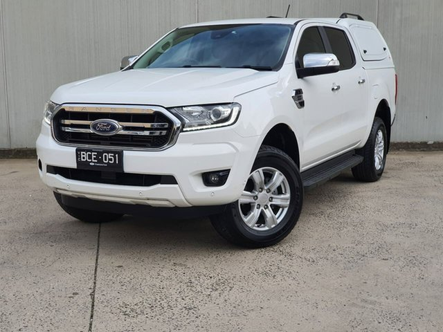 Used Ford Ranger PX MkIII 2019.75MY XLT Oakleigh, 2019 Ford Ranger PX MkIII 2019.75MY XLT White 10 Speed Sports Automatic Double Cab Pick Up