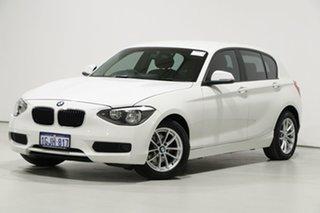 2013 BMW 116i F20 White 8 Speed Automatic Hatchback.
