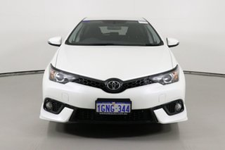 2018 Toyota Corolla ZRE182R MY17 SX White 7 Speed CVT Auto Sequential Hatchback.