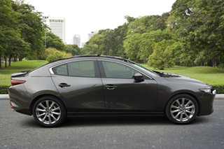 2020 Mazda 3 BP2SL6 G25 SKYACTIV-MT Evolve Machine Grey 6 Speed Manual Sedan.