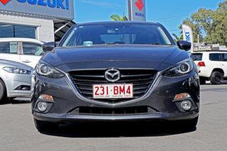 2016 Mazda 3 BM5238 SP25 SKYACTIV-Drive GT Grey 6 Speed Sports Automatic Sedan.