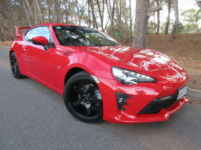Used Toyota 86 ZN6 GTS Reynella, 2016 Toyota 86 ZN6 GTS Red 6 Speed Sports Automatic Coupe